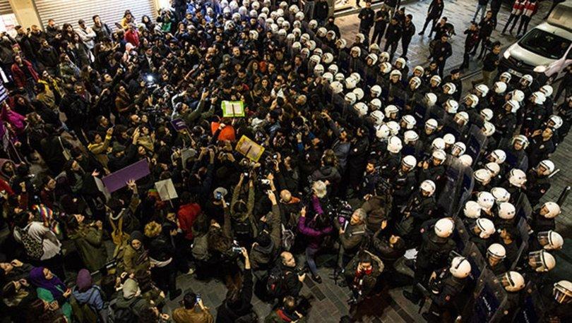 EGM'den, kadınların Taksim'deki eylemine ilişkin açıklama
