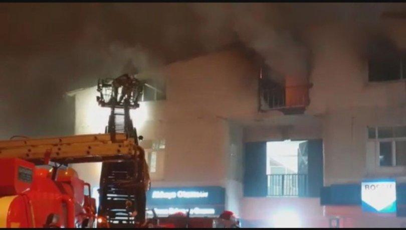 İstanbul'da iş yeri yangını: 5 yaralı