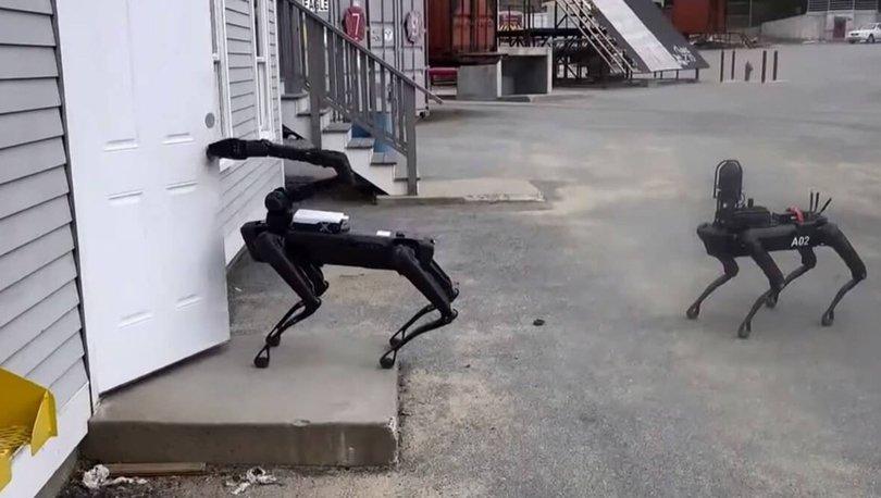 Boston Dynamics'in robotları polis köpeği oldu