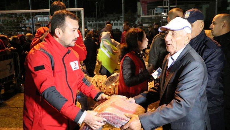 Türkiye'den Arnavutluk'a yardım eli