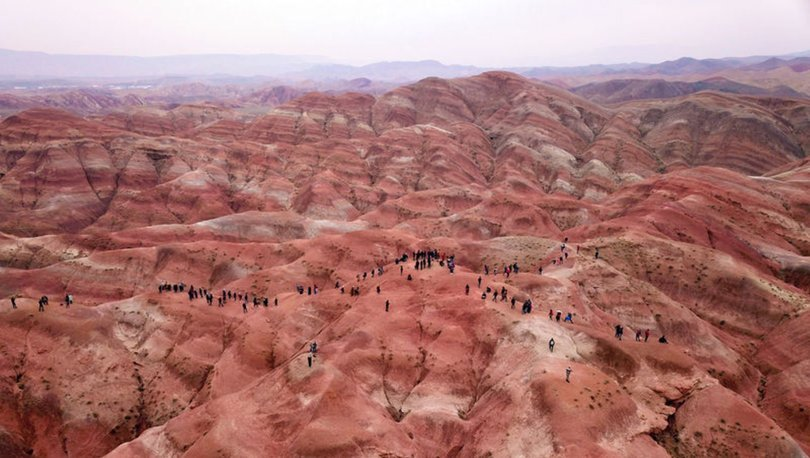 Gökkuşağı Tepeleri her mevsim ziyaretçilerini cezbediyor
