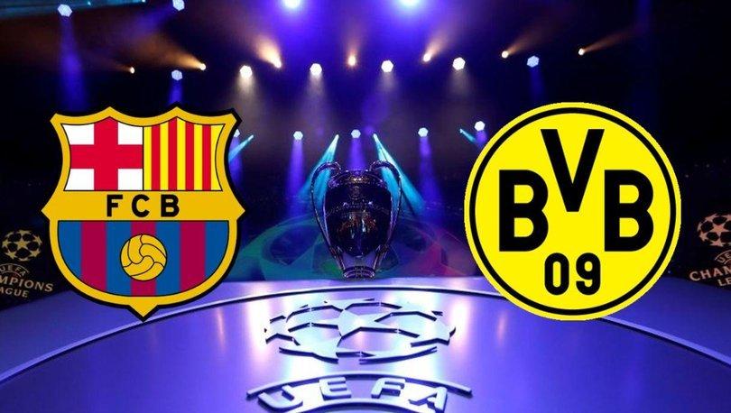 Barcelona Dortmund maçı