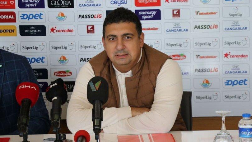 Antalyaspor Başkanı Ali Şafak Öztürk, PFDK'ye sevk edildi