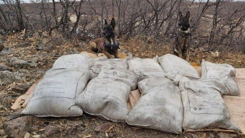 Bingöl'de PKK'ya ait 450 kilo 'amonyum nitrat' ele geçirildi