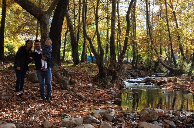 Amanos Dağları'ndaki 'nde sonbahar güzellikleri