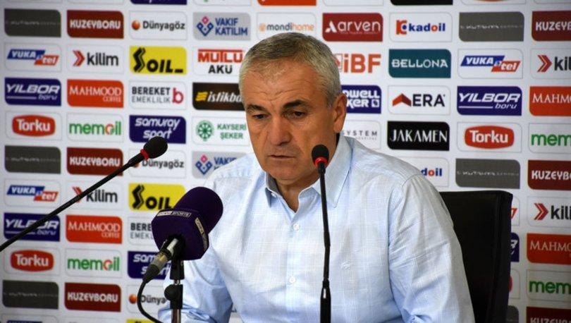 Sivasspor Teknik Direktörü Rıza Çalımbay: