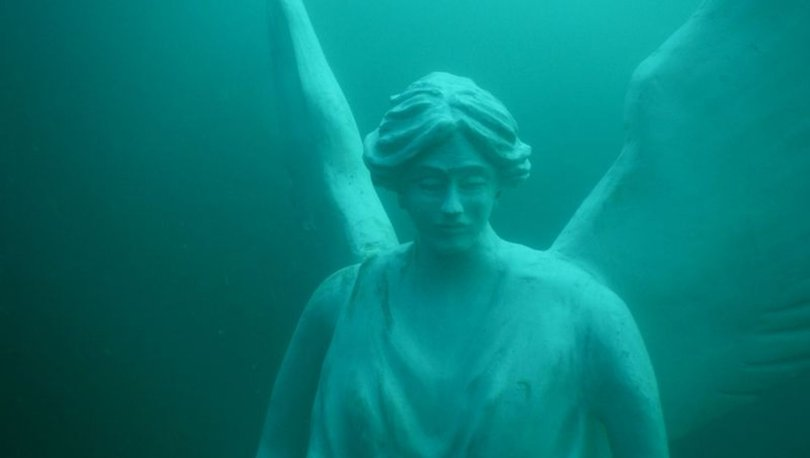 Saros Körfezi'ne batırılan eserler, su altında ilk kez görüntülendi