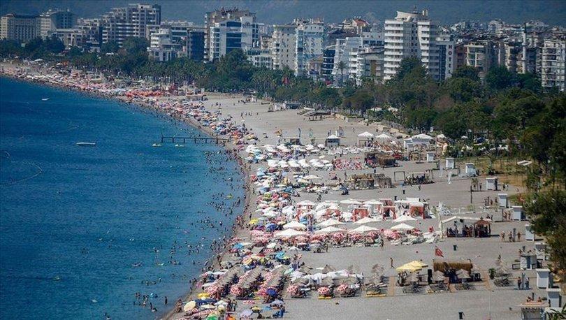 Antalya turist rekor