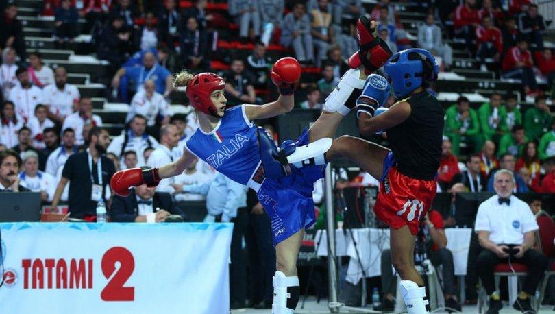 Dünya Kick Boks Şampiyonası'nda Türkiye 18 madalyayı garantiledi