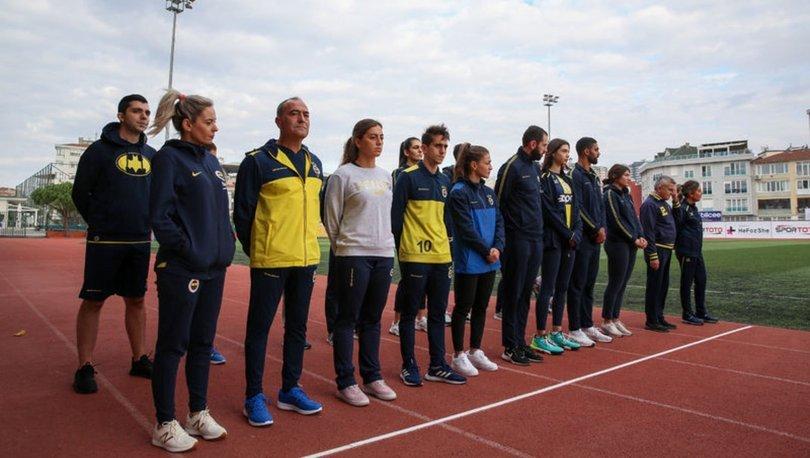 Fenerbahçe Kulübü, kadına şiddete karşı gösteri koşusu düzenledi