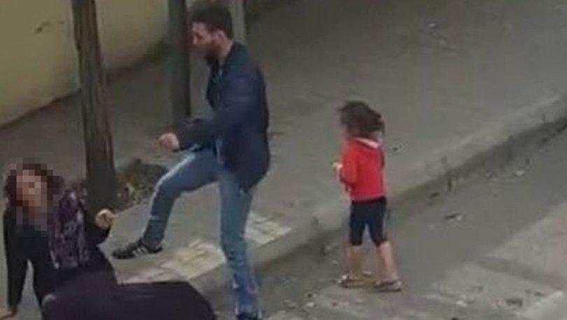 Son dakika... Kahreden olay! Sokak ortasında kadına şiddet kamerada! - Haberler