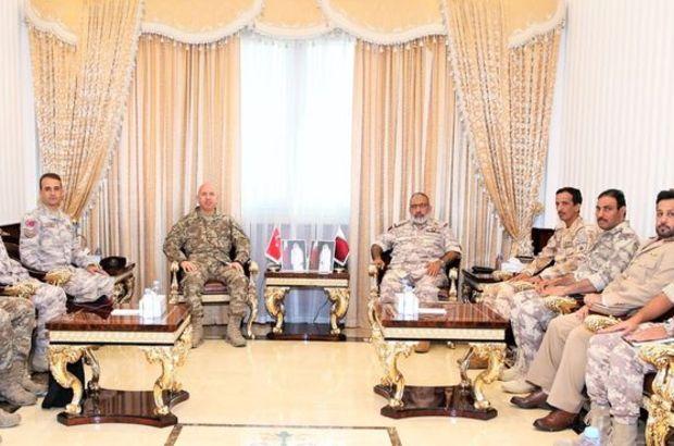 Özel Kuvvetler Komutanı Erbakan, Katar Genelkurmay Başkanıyla görüştü