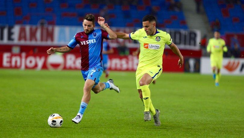Trabzonspor - Getafe maçı