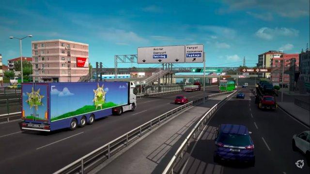 Euro Truck Simulator 2 Türkiye'ye geliyor! Haberler