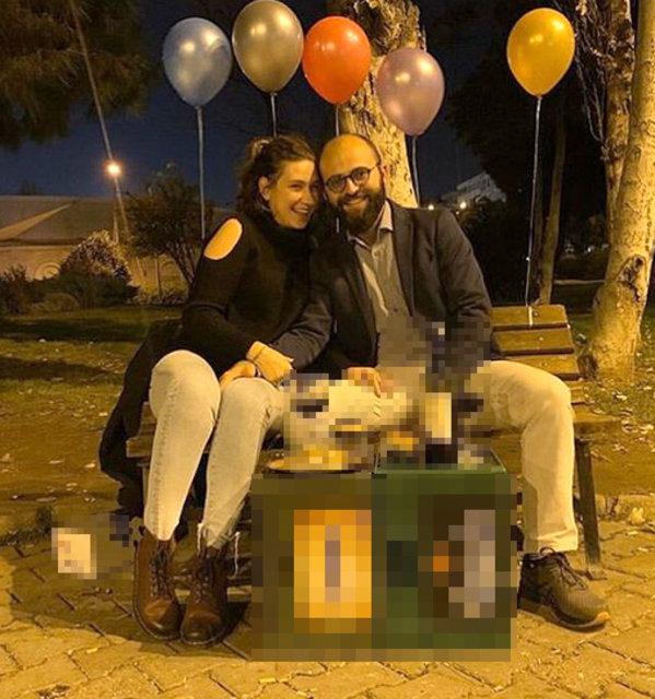 Oyuncu Gözde Çığacı'dan sevgilisi Tümer Gülümserler'e evlilik teklifi! - Magazin haberleri