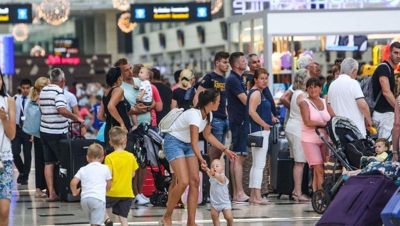 Yabancı turist girişi arttı