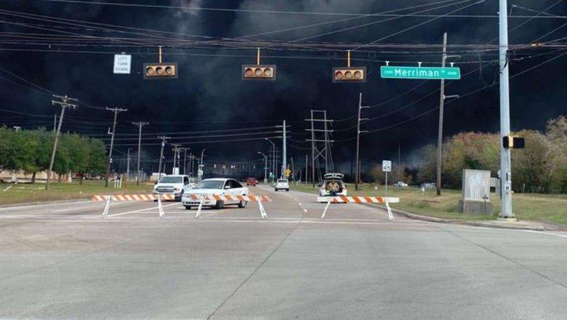 Teksas'taki patlamadan dolayı 50 bin kişi tahliye edilecek