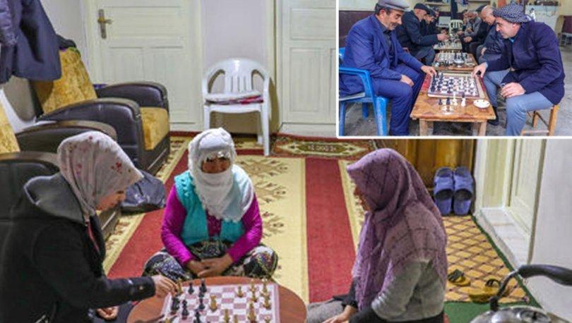 satranç oynayan ilçe