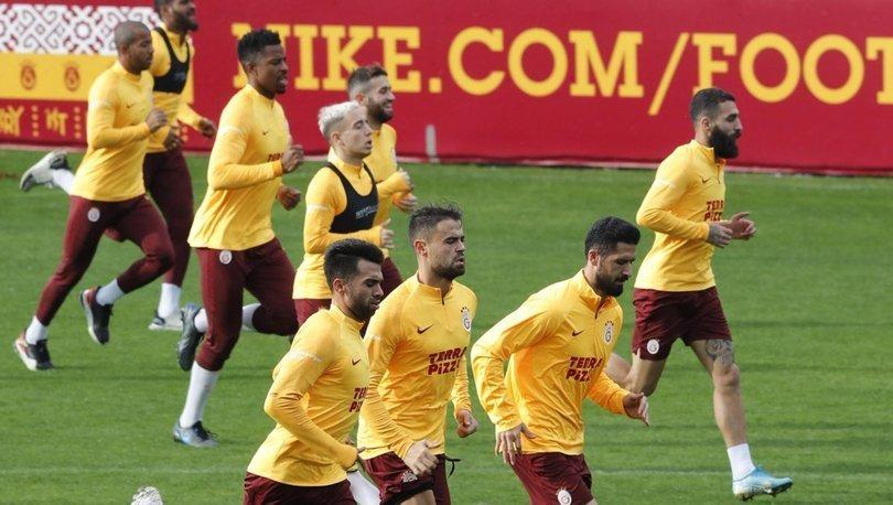 Galatasaray'da Trabzonspor maçının hazırlıkları sürüyor