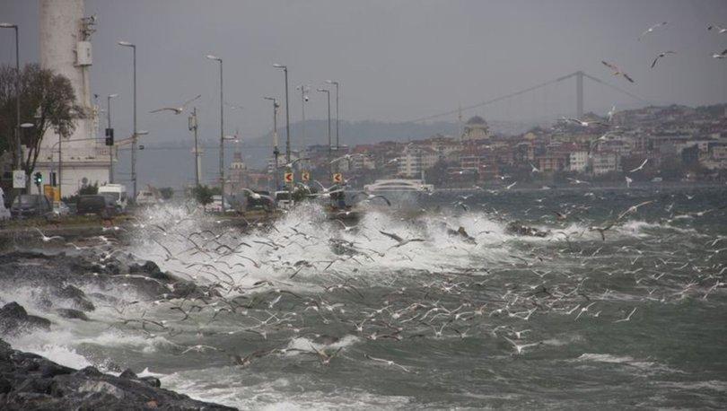 İstanbul'da sağanak ve lodos etkili oldu! Yarın yine geliyor!