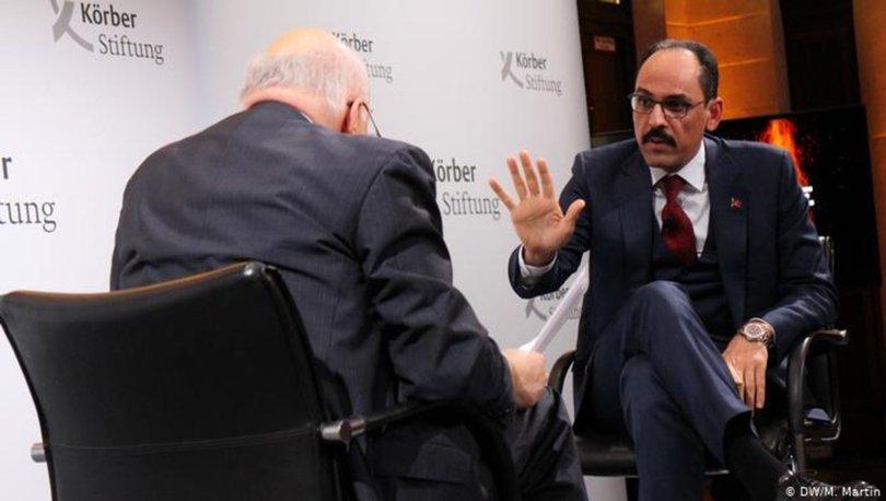 Son dakika... İbrahim Kalın Deutsche Welle'de Sebastian'a konuştu