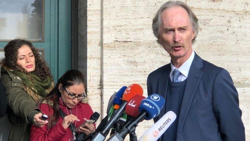 Son dakika... Cenevre'deki Suriye Anayasa Komitesi görüşmeleri başarısızlıkla sonuçlandı