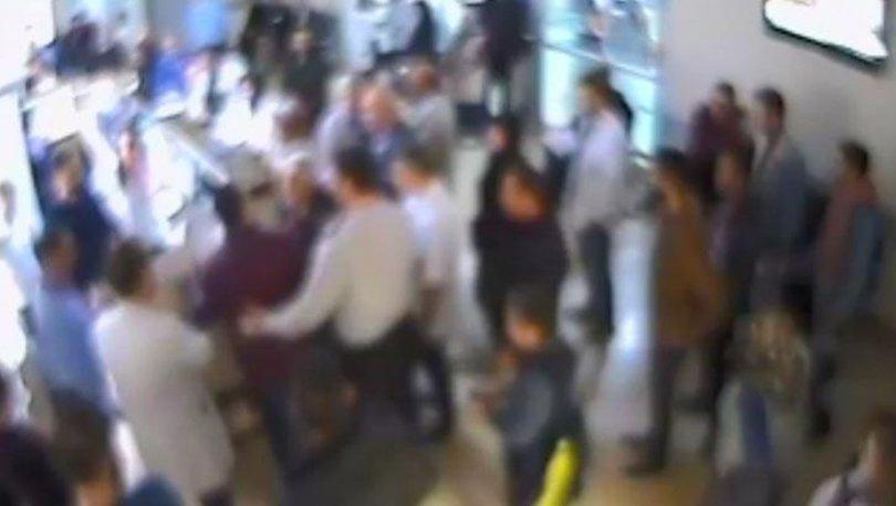 Samsun'da şok olay! Hasta masanın üstüne çıktı doktora tekme attı