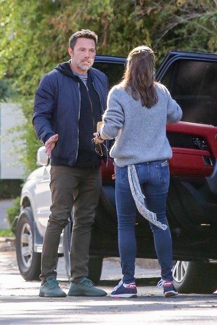 Ben Affleck ile Jennifer Garner sokak ortasında kavga etti - Magazin haberleri