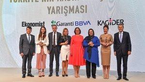 Kadın girişimciler ödüllerini aldı