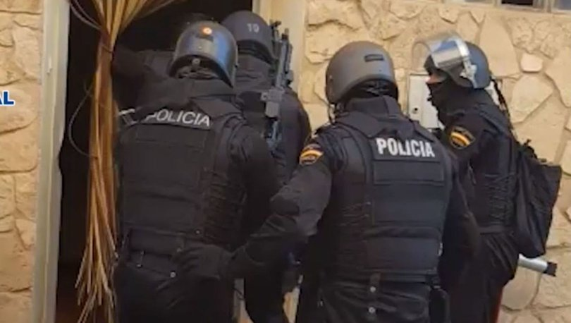 İspanya'da dev uyuşturucu operasyonu
