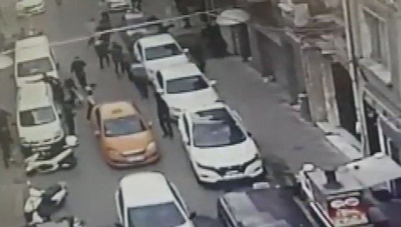 Beyoğlu'ndaki çatışmanın görüntüleri ortaya çıktı