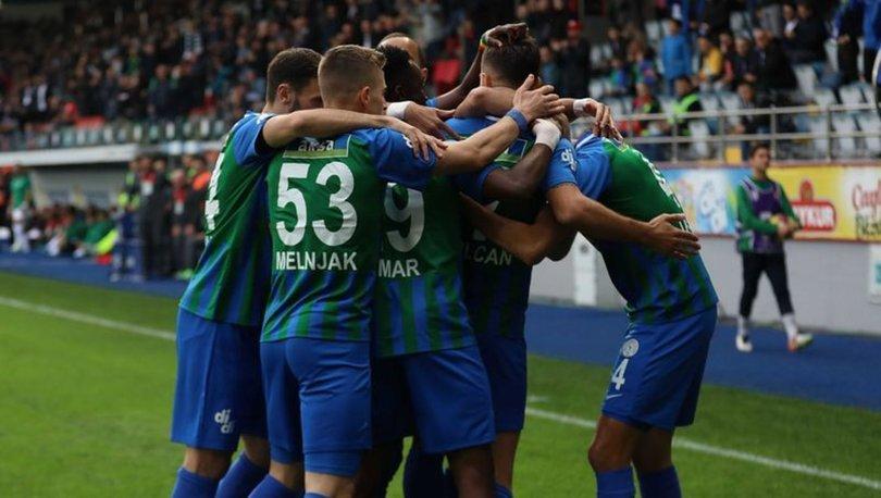 Çaykur Rizespor: 3 - Konyaspor: 1 | MAÇ SONUCU