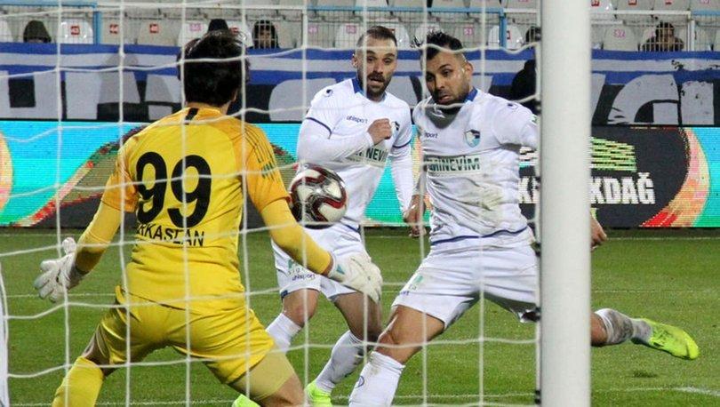 BB Erzurumspor: 2 - Osmanlıspor: 0 | MAÇ SONUCU