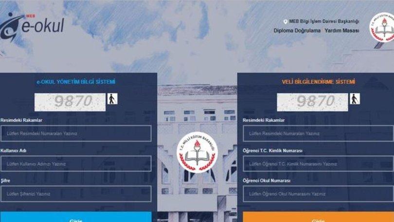 E-okul öğrenci giriş sayfası 2019-2020! E-okul VBS veli bilgilendirme sistemi nasıl açılır? E-okul'dan uyarı geldi