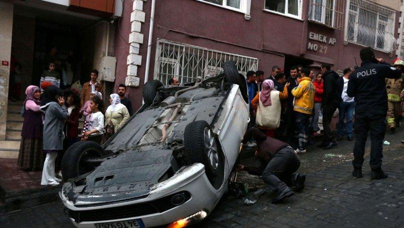 Beyoğlu'nda kaza