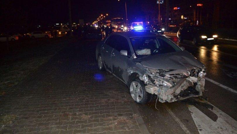 İnegöl'de zincirleme kaza! 9 araç birbirine girdi
