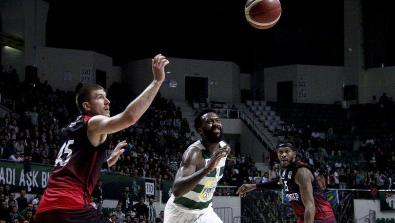 Frutti Extra Bursaspor: 87 - Gaziantep Basketbol: 106