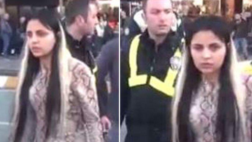 Son dakika... Şişeyi kırıp saldırdı! Fas uyruklu kadın Taksim'i birbirine kattı! - Haberler