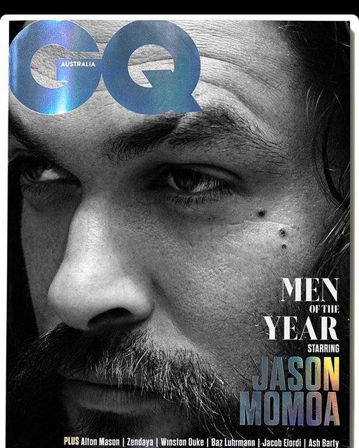 Jason Momoa yılın erkeği seçildi