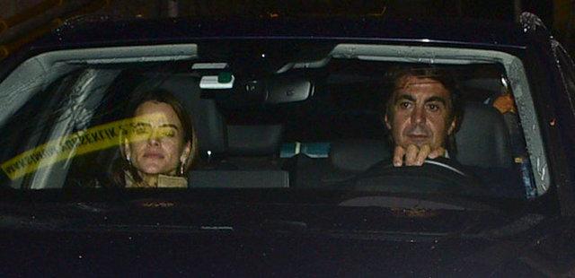 İbrahim Kutluay ile Edvina Sponza otoparktan kaçtı - Magazin haberleri