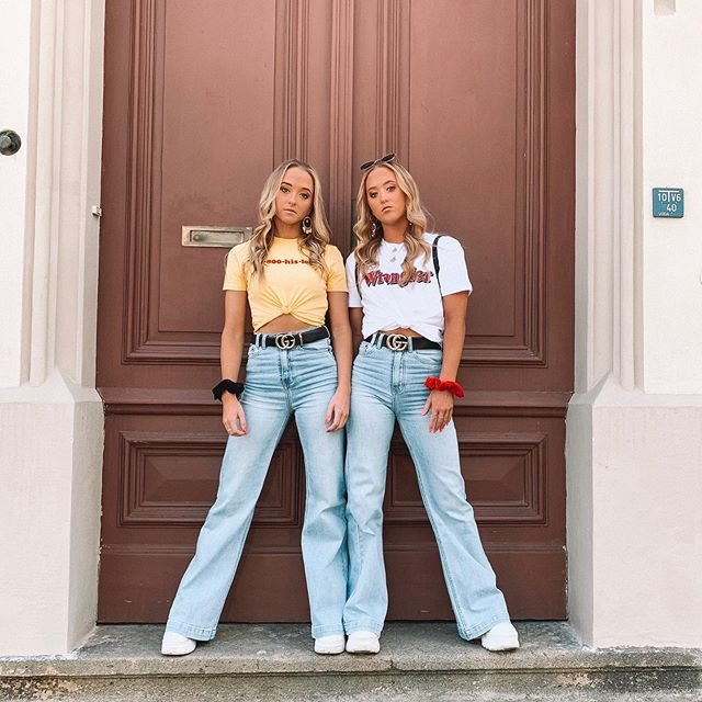 Teagan ve Samantha Rybka adlı ikizler interneti sallıyor