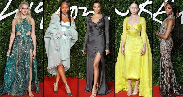 Moda Ödülleri'nde şıklık yarışı...