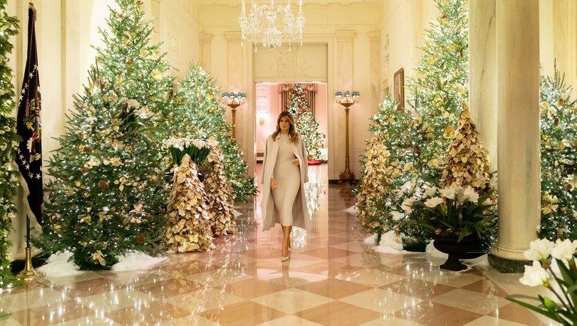 Beyaz Saray'ın Noel teması 'vatanseverlik'