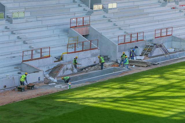 Göztepe'nin yeni stadı için geri sayım
