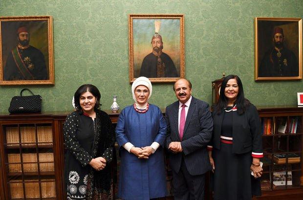 Emine Erdoğan, İngiliz parlamenterlerle görüştü