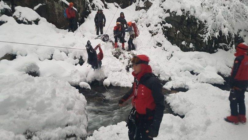 Uludağ'da kaybolan 2 dağcı