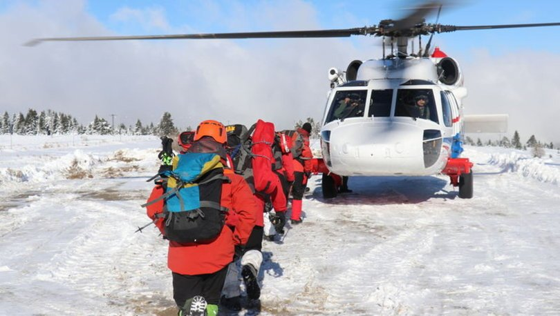 Uludağ'da kaybolan dağcılar