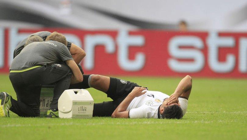 Juventuslu Khedira 3 ay futbol oynayamayacak