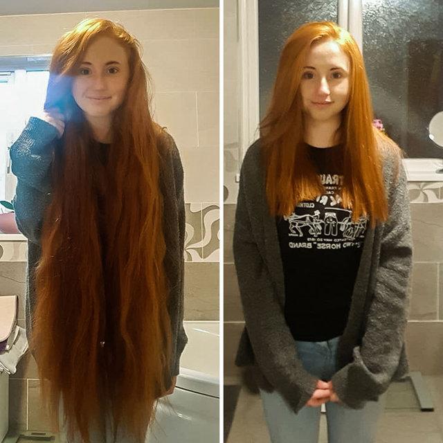Saçlarıyla hasta insanlara umut oldular! - Haber