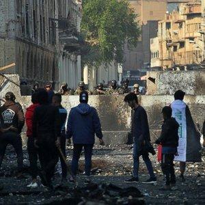 Bağdat'a asker yığınağı